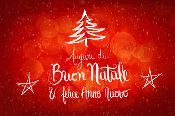 Auguri di Natale e Buon Anno nuovo EMAC