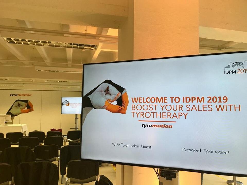 IDPM 2019 Tyromotion