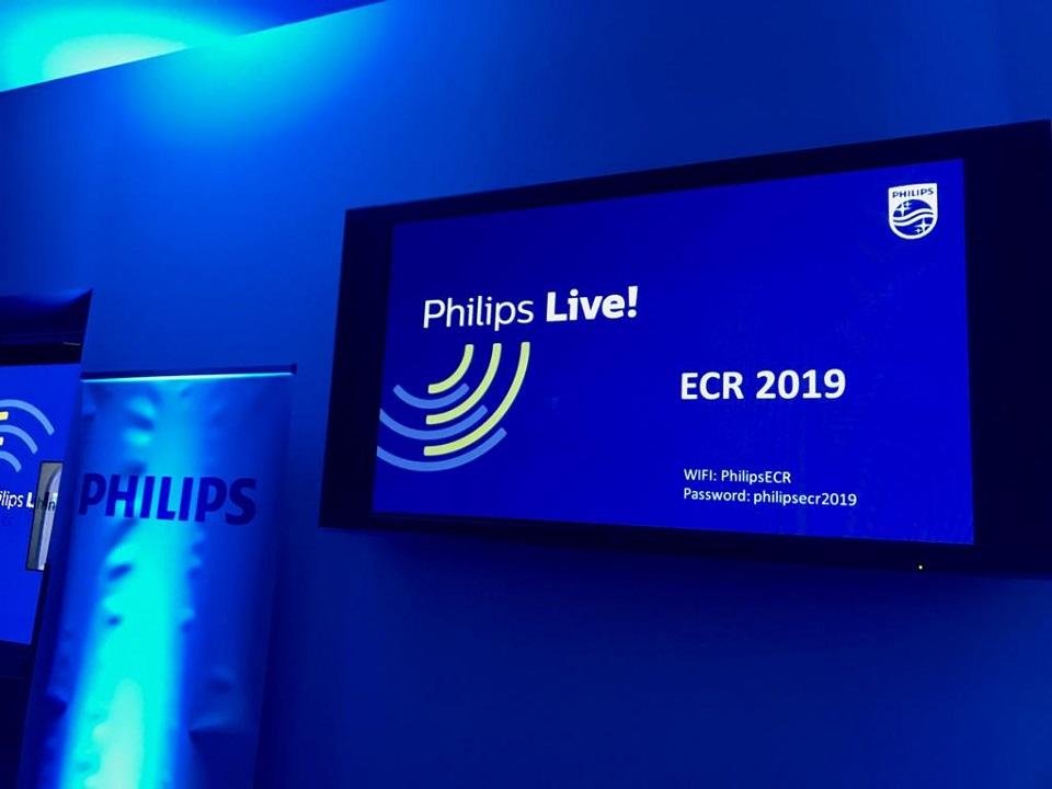 Evento Philips ECR2019