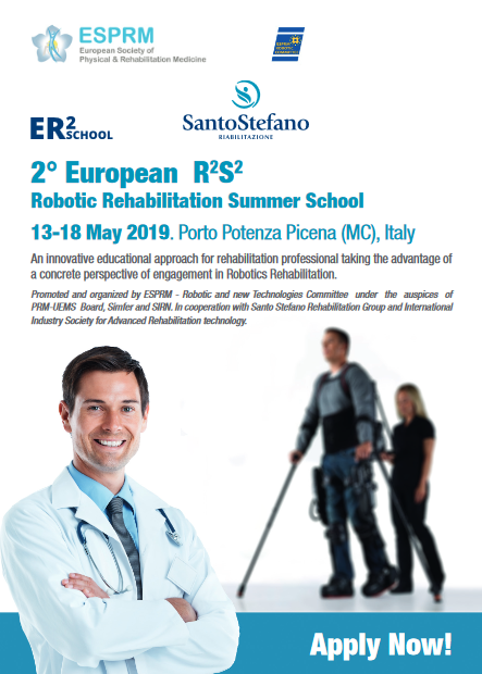 european robotic rehabilitation maggio 2019 emac