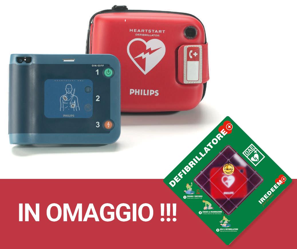 Defi brillatore Philips HeartStart FRx + teca